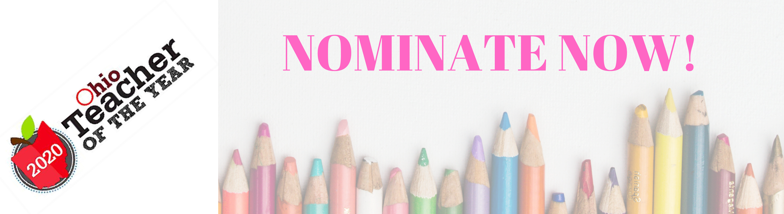 2020 Ohio Teacher of the Year - Nominate Now!