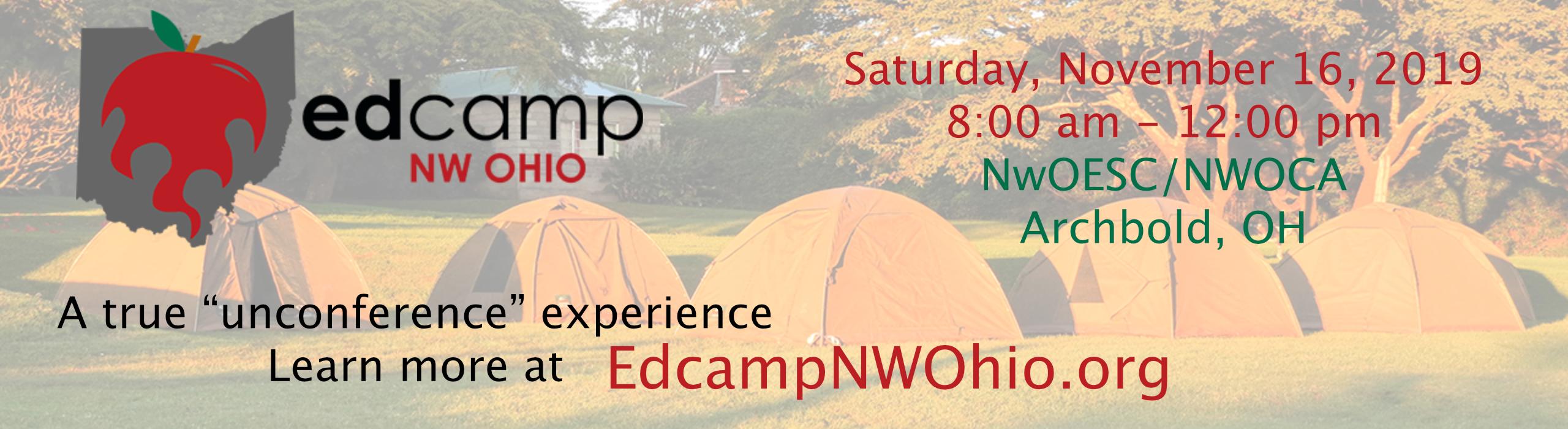 Edcamp Northwest Ohio - edcampnwohio.org