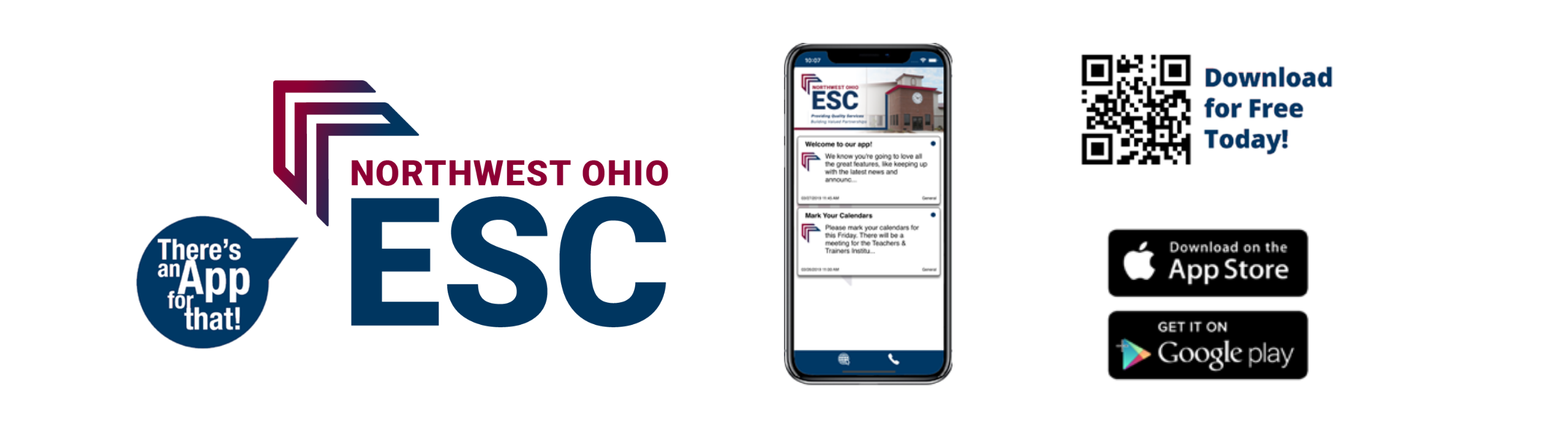Download the NWOESC app